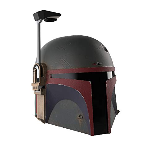 Casco electrónico Premium de Boba Fett (re-Armado) de Star Wars The Black Series, Coleccionable de The Mandalorian, a Partir de 14 años