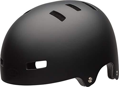 Bell Helmets Local Monopatín Negro casco de protección - Cascos de protección (Monopatín, Negro, m, Mate, 55 - 59 cm, Fijo)