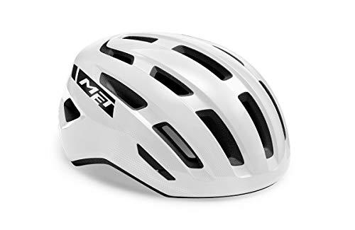 MET Miles MIPS - Casco para bicicleta de montaña (talla M), color blanco