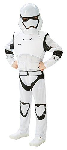 Star Wars - Disfraz de Stormtrooper, Episode 7, Deluxe, para niños (Rubie'S 620269-TE)
