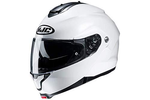 HJC Helmets C91 BLANC PERLE/PEARL WHITE L