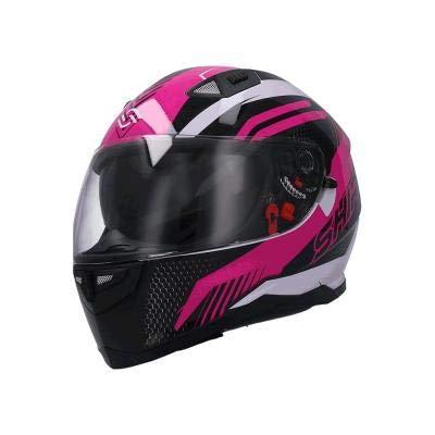 SHIRO - 001244-0036-S/449 : SHIRO - 001244-0036-S/449 : Casco Integral SH-881 SV MOTEGI II Color Rosa Fluor Talla S