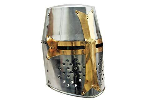 Szco Supplies Brass Crusader Helmet