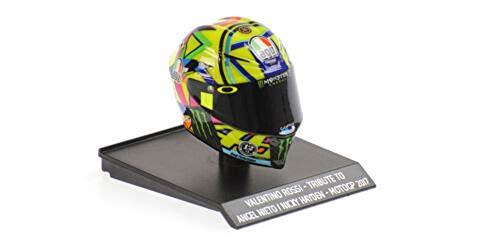 Minichamps 1:10 Valentino Rossi – Tribute to Angel Nieto/Nicky Hayden Casco (315170056)