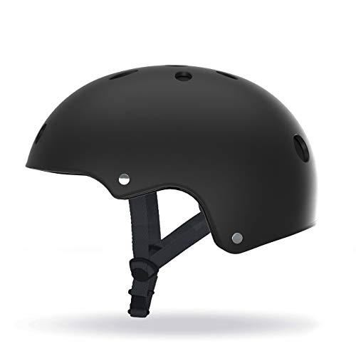 SCOOTY H.10 Casco de Protección para Movilidad Urbana y Bicicleta Adultos Unisex Negro, L (58-61 cm)