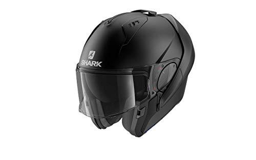 Ixon Shark - Casco modular para moto EVO ES negro mate