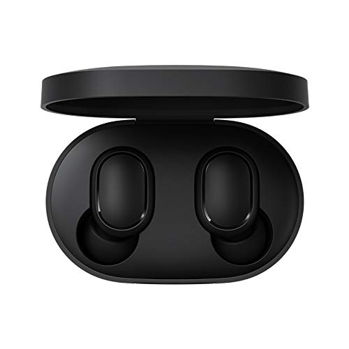 Xiaomi Redmi Airdots Bluetooth 5.0 Auricular Auriculares Inalámbricos con Caja de Carga de 300 mAh Sonido Estéreo Verdadero Mini Auriculares Inalámbricos IPX4 Control de Micrófono a Prueba de Sudor