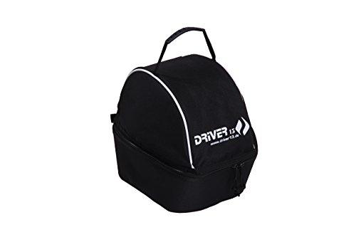 Driver13 ® bolsa de casco funda de casco para casco de esquí, casco de bicicleta, casco de montar, bolsa de casco, bolsa de casco negra acolchada