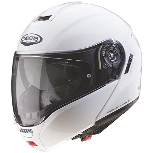 Casco Caberg Levo White Metal XL