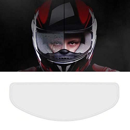 Dettelin Película antivaho del Casco Impermeable para la Motocicleta, película Universal del Remiendo del Casco