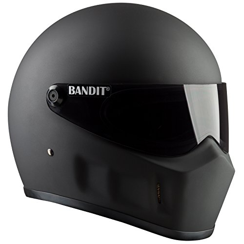 Bandit Super Street II–Casco para moto L negro mate