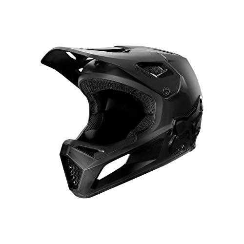 Fox Yth Rampage Helmet Black/Black