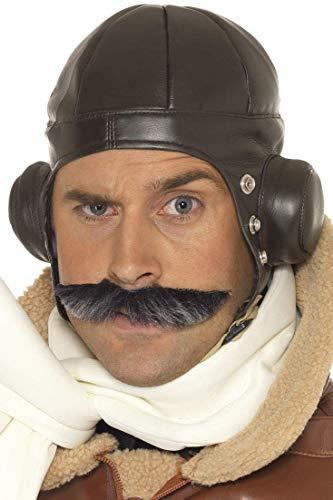 Smiffy's 33437 - Sombrero de aviador, Marrón