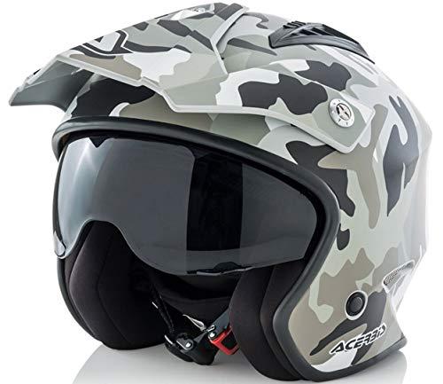 Acerbis casco Jet aire Camo/Brown S