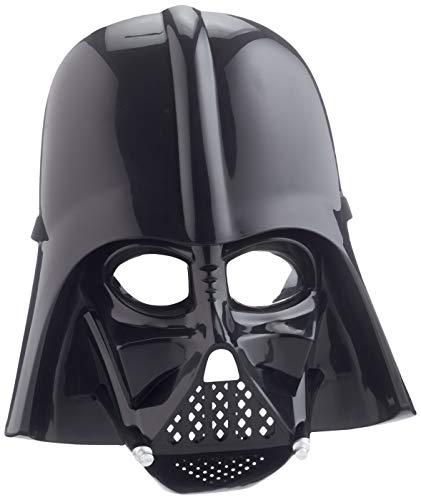 Rubies Disfraz de Darth Vader para niño Star Wars Máscara, color negro, Talla única (Indefinido 3441)