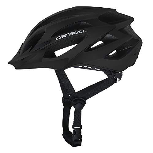 Cairbull Adulto Casco Hombres Mujeres Bicicleta de Montaña Casco de Ciclismo con Visera M/L(55-61cm) Ajustable