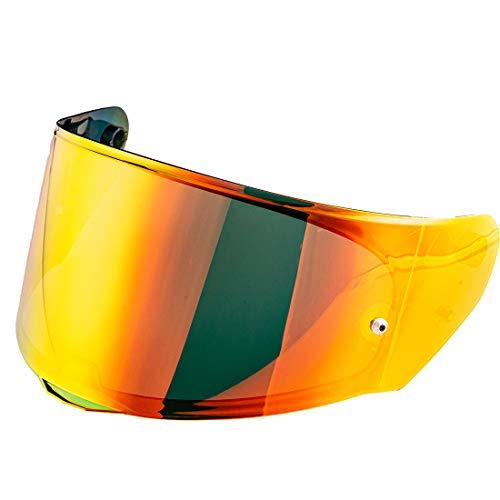 LS2 FF328 FF353 FF800 Helmet Visor Rapid Stream Model Face Shield LS2 FF320 Casco Pinlock Visera (Chrome Red)