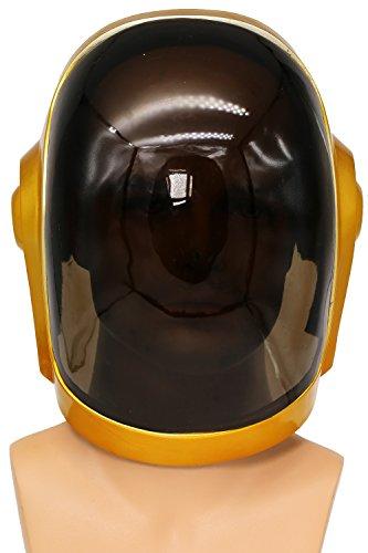 Cosplay casco hombres máscara de traje réplica DJ accesorios para Halloween disfraces ropa mercancía