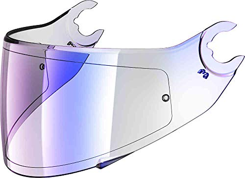 Shark, visera para casco de moto Skwal 2 iridio azul VZ16045PBLUTU