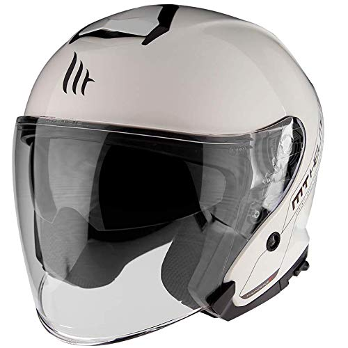 MT HELMETS Thunder 3 SV Jet Solid A0 Gloss Pearl White L