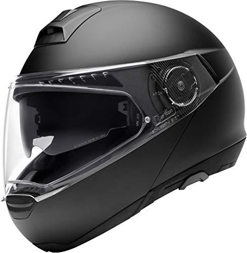 Schuberth 4549248360 C4 Pro – Casco para Moto Unisex – Adulto, Negro Mate Negro, 65 (XXXL), 1 Pieza