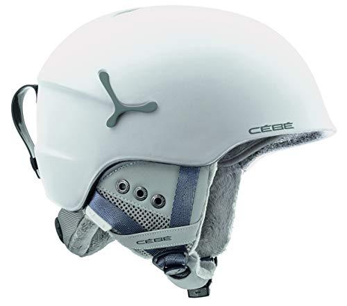 Cébé Suspense Deluxe Casco de Ski White Juventud Unisex 54-56 cm