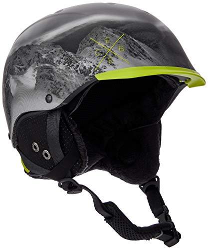 Cébé Contest Visor Cascos de ski, Unisex Adulto, Gris (Lime Mountain), Talla del Fabricante: 56-58 cm