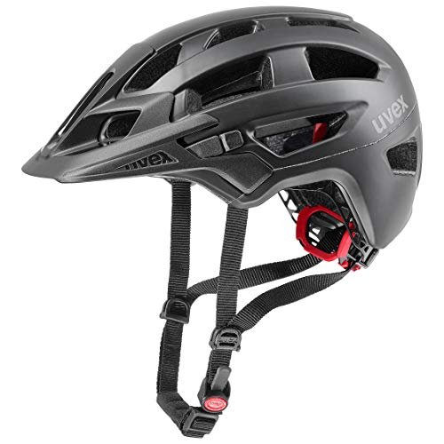 Uvex Finale 2.0 Casco Ciclismo, Unisex Adulto, Black Mat, 56-61 cm