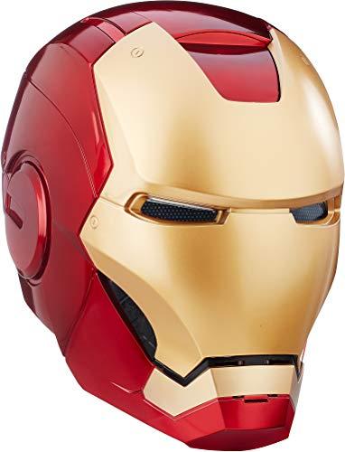 Coleccionables de Hasbro - Casco electrónico de Iron Man de Los Vengadores de Marvel Legends