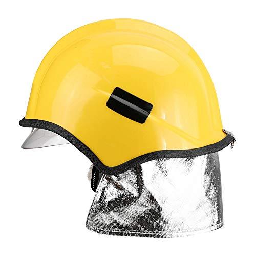 Casco de seguridad, reduce el impacto Gran rendimiento de aislamiento Casco de bombero para proteger