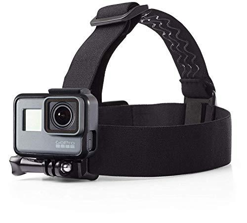 Amazon Basics - Montura con correas para cabeza para cámara GoPro