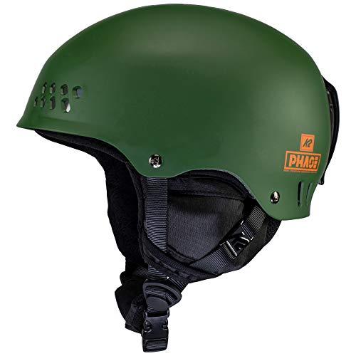 K2 Ski Phase Pro Casco de esquí, Unisex Adulto, Verde Bosque, S (51-55cm)