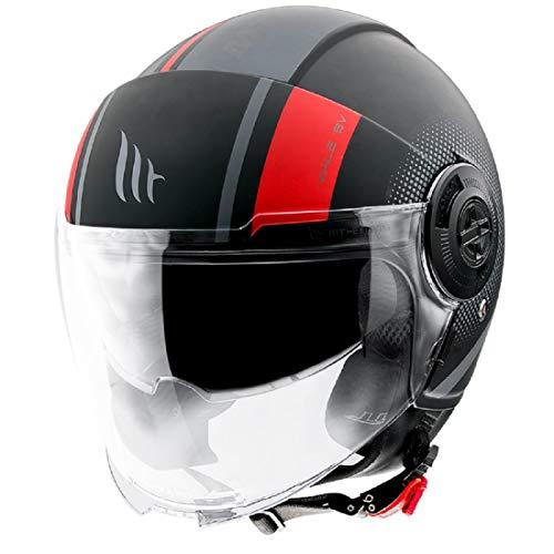 Mt Helmets Viale Sv Phantom C5 Matt Red M