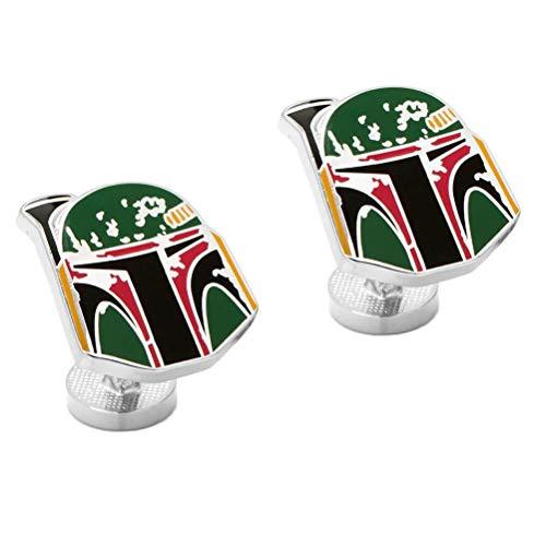 Cufflinks Inc Star Wars Boba Fett Apenada Casco Gemelos
