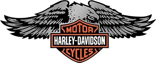 Adhesivos retroreflectantes para Casco Harley Davidson águila