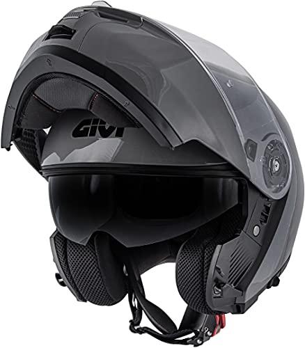 GIVI X.20 Expedition Helmet Casco Gris M (58)