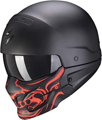 Scorpion EXO-COMBAT EVO SAMURAI Matt Black-Red XXL