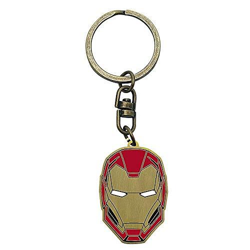 Llavero de metal para casco de Iron Man de Marvel