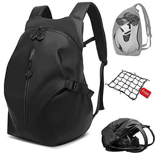 Mochila impermeable para moto, 40 L, gran capacidad, para viajes, camping, ciclismo, bolsa de almacenamiento