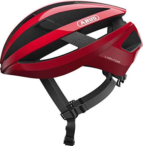 ABUS Racing Red M Casco, Unisex, Rojo (Rojo)