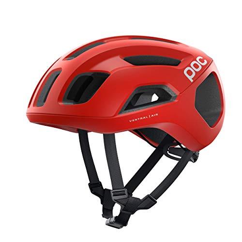 POC Ventral Air SPIN Casco Ciclismo Unisex Adulto, Rojo Prismane Red Matt, SML