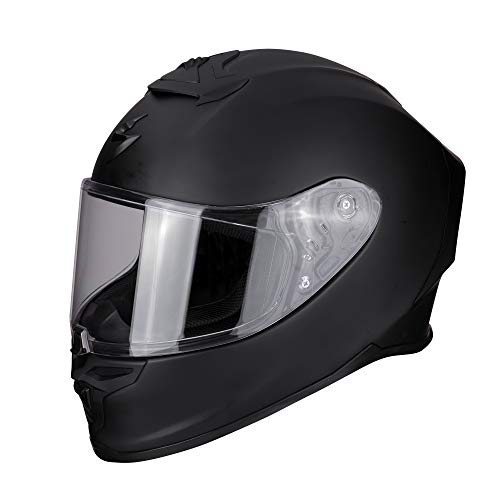 Scorpion Casco de moto EXO-R1 AIR Matt Black, Negro, L