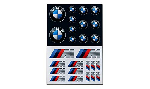 BMW Logo M Performance - Juego de pegatinas autoadhesivas