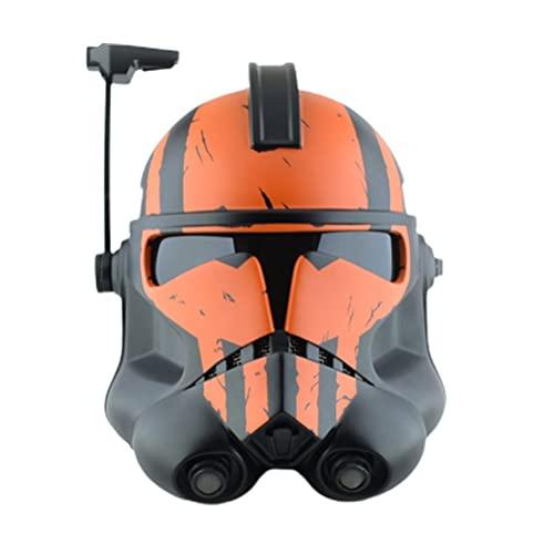 Casco mandaloriano, máscara de casco de Star Wars, máscara de casco de dibujos animados, disfraz de Halloween, cosplay de disfraces