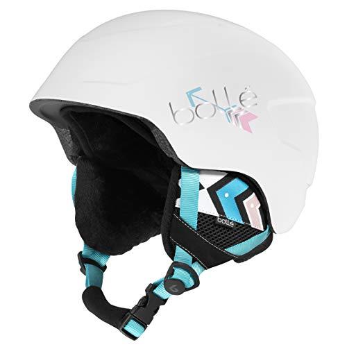 Bollé B-Lieve Casco de Ski White Adultos Unisex 53-57 cm