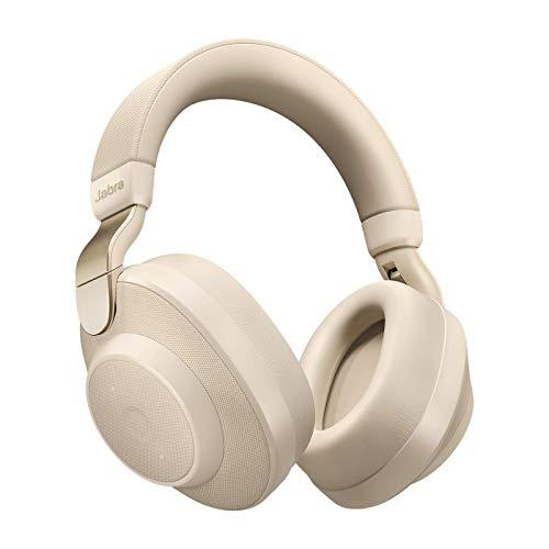 Jabra Elite 85h - Auriculares Inalámbricos Over-Ear, Cancelación Activa de Ruido, Batería de Larga Duración para Llamadas y Música, Beige Oro