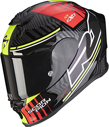 Scorpion EXO-R1 AIR VICTORY Black-Silver-Red M