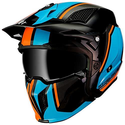 Mt Helmets Streetfighter SV Twin A4 Gloss Fluor Orange M