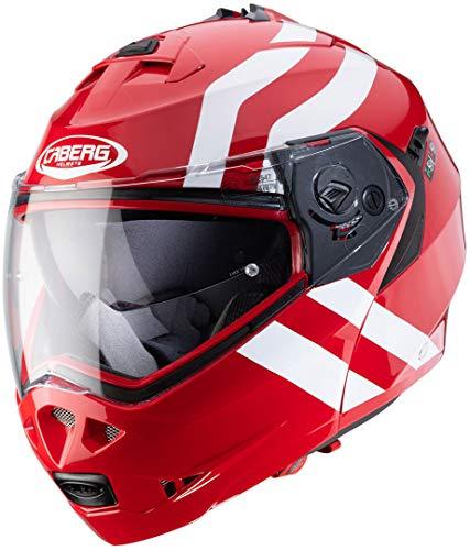 Caberg Casco Duke II SuperLegend rojo/blanco XS