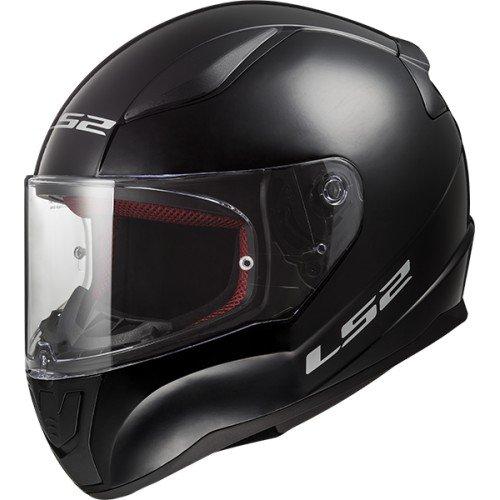 Casco de moto LS2 RAPID Negro, Negro, XL